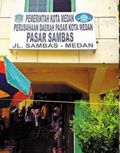 Pasar Sambas Medan