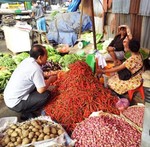 Pasar Simpang Limun Medan