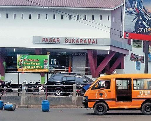 Pasar Sukaramai Medan
