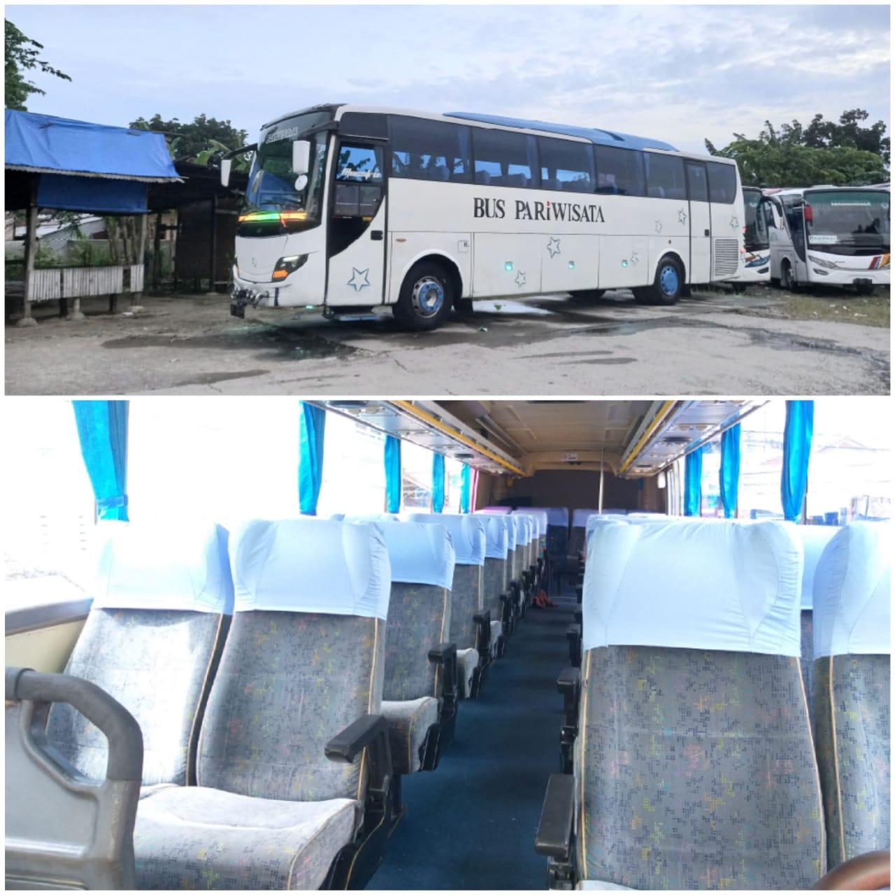 Big Bus Pariwisata Medan 45 Seats