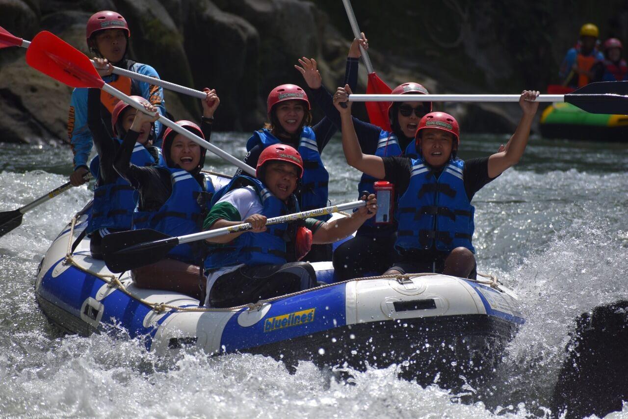 Dokumentasi Rafting di Medan (1)