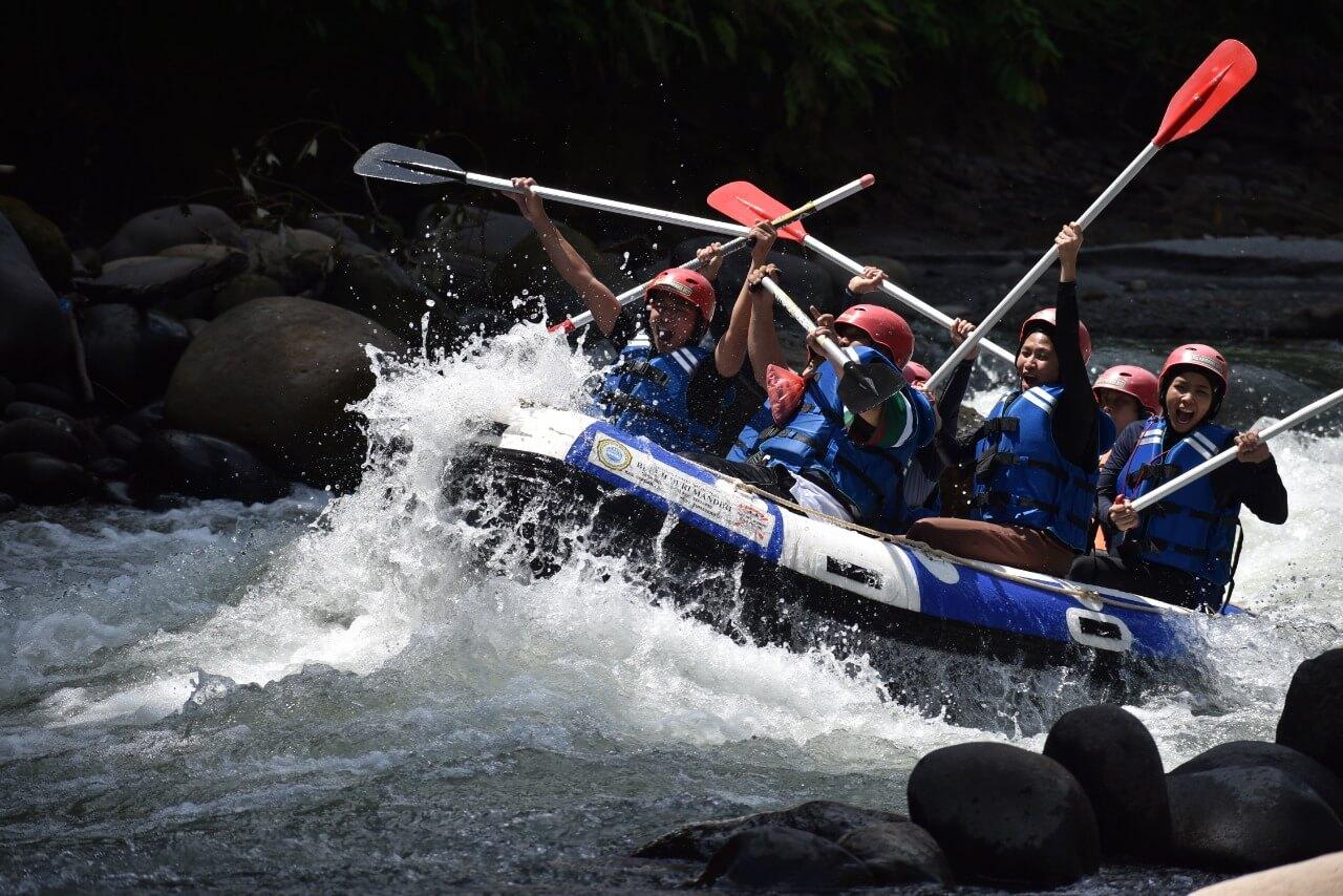 Dokumentasi Rafting di Medan (4)