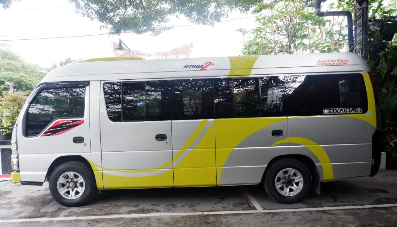 Sewa Bus Pariwisata Medan Type Elf