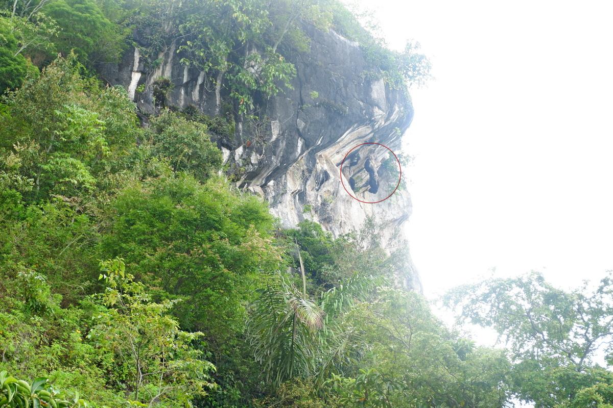 sejarah danau toba - batu gantung