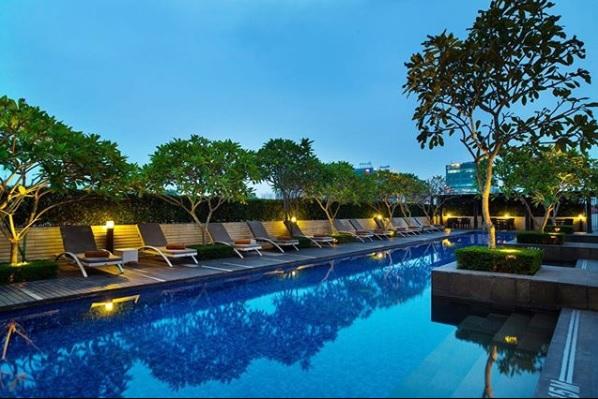 Hotel Santika Hotel Bintang 5 di Medan