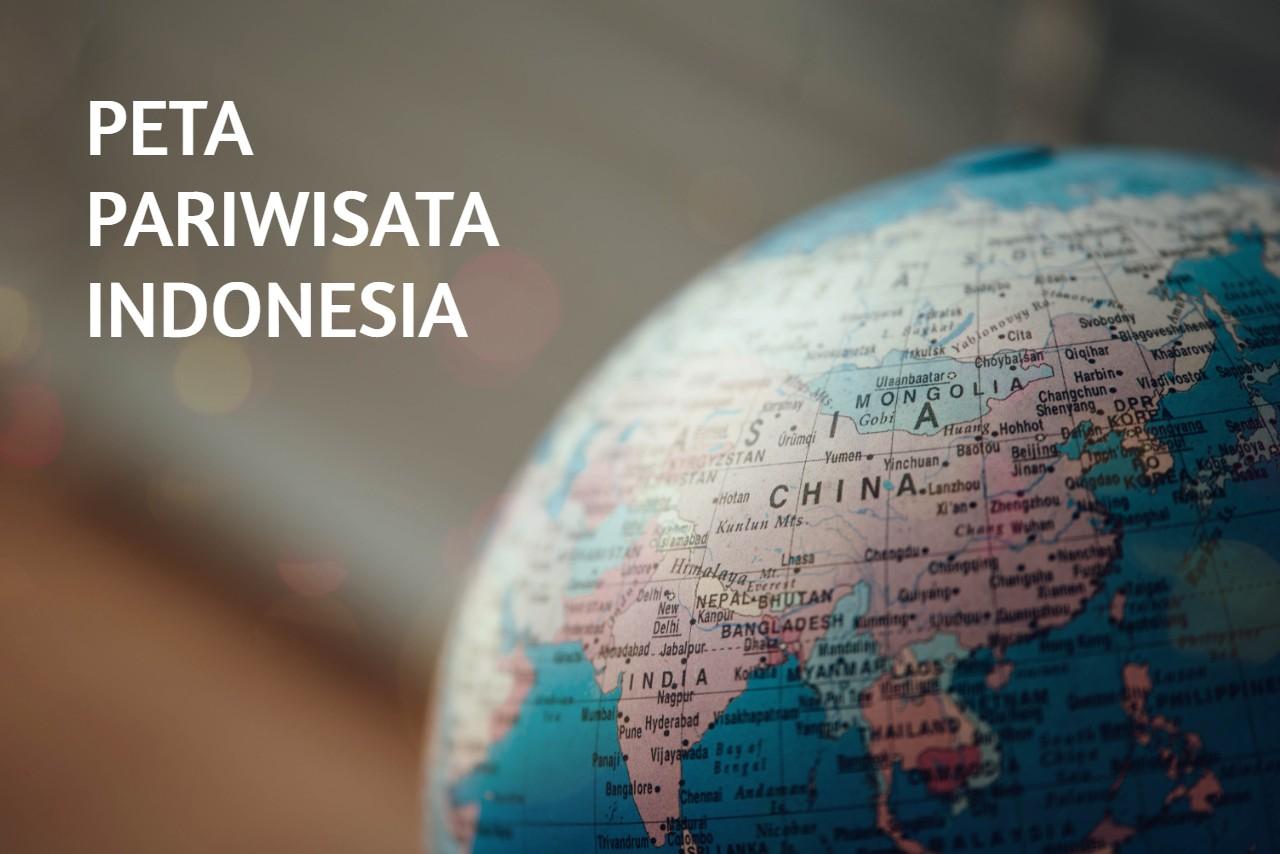 peta pariwisata Indonesia