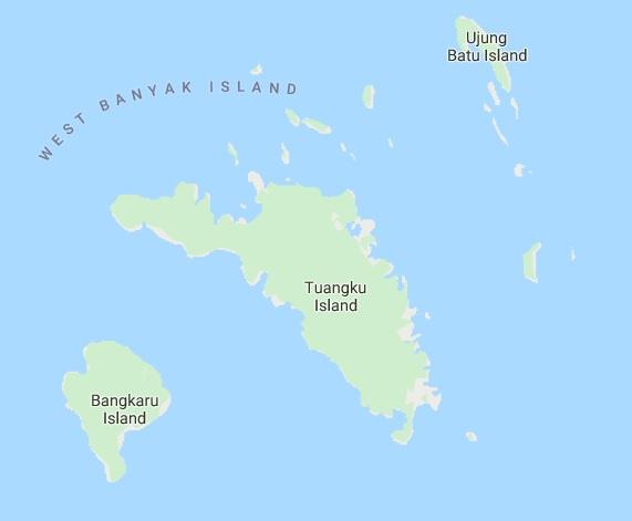 Map Wisata Pulau Banyak
