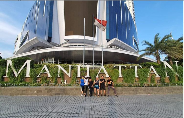 Mall di Medan : Manhattan Medan @ritamilianty