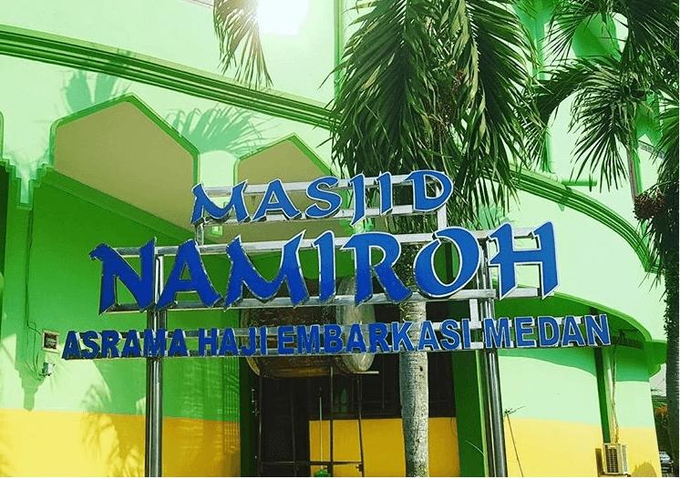 Masjid Namiroh Asrama Haji Medan