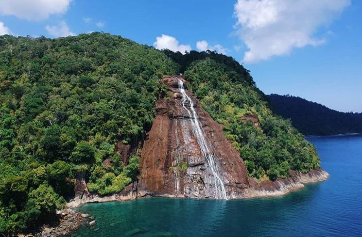 Mursala Air Terjun di Medan Sumatera Utara