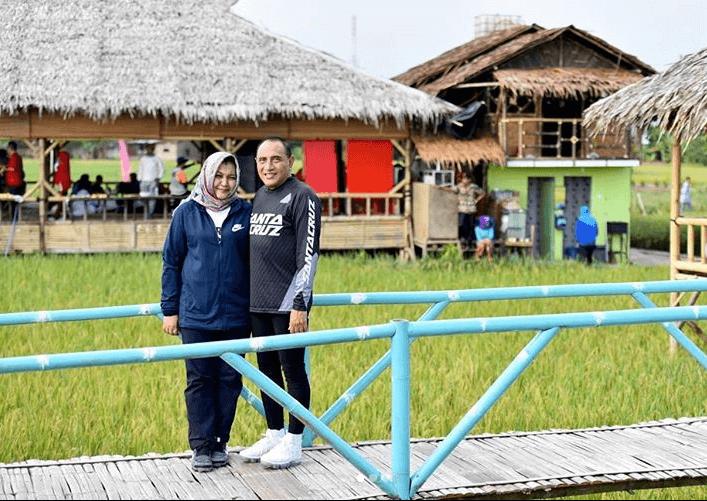 Wisata Sawah Pematang Johar - Gubernur Sumut