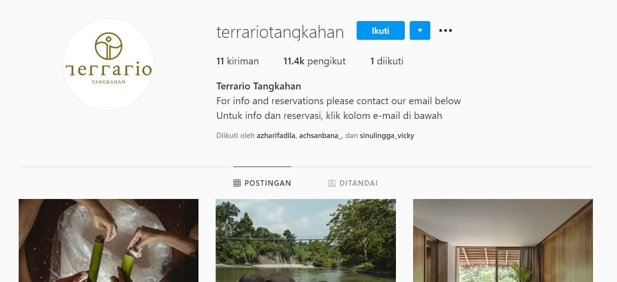 Terrario Tangkahan Review